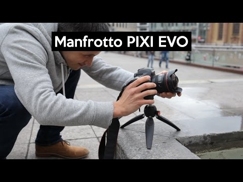 Manfrotto PIXI EVO | das Mini-Stativ mit den versteckten Features | VLOG-tripod