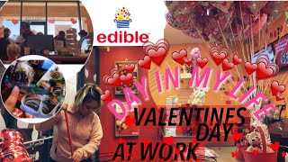 VLOG: WHAT ITS LIKE WORKING AT EDIBLE ARRANGEMENTS