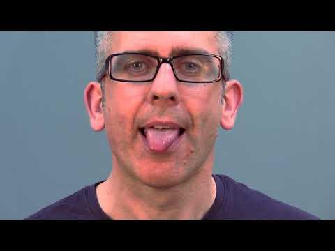 Tongue protrusion forward