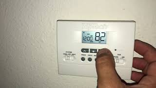 How to Reset an AC Thermostat