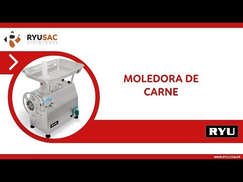MOLEDORA DE CARNE 220 KG PLUS  • RYUSAC