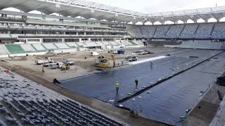 Bankwest Stadium Internal time lapse