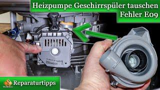 Bosch Geschirrspüler Heizpumpe tauschen - Fehler E09