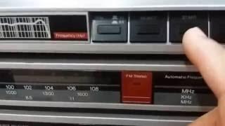 Aparelho de Som Modular Philips FR210, Toca Discos, Receiver e Tape Deck