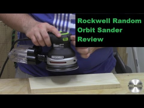 Rockwell Tools Random Orbit Sander Review