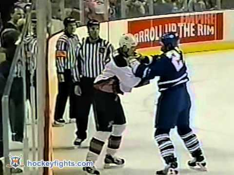 Chris Gratton vs. Shayne Corson