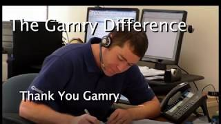 Thank You Notes to Gamry