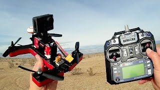 VIFLY R220 RTF Entry Level FPV Racer Drone Flight Test Review