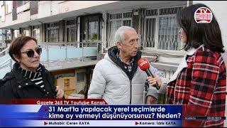 Kadıköy'de Sorduk: Yerel Seçimlerde Kime Oy Vermeyi Düşünüyorsunuz?
