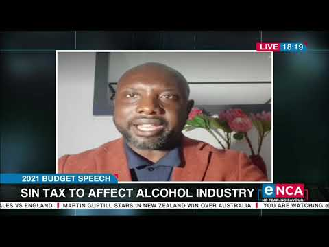 Budget Speech Sin tax to affect alcohol industry