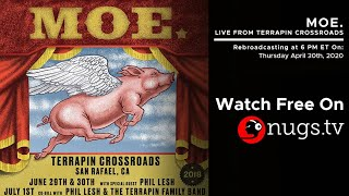 moe. Live from Terrapin Crossroads