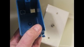 Coax Outlet Installation - How To