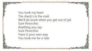 John Hiatt - Sure Pinocchio Lyrics