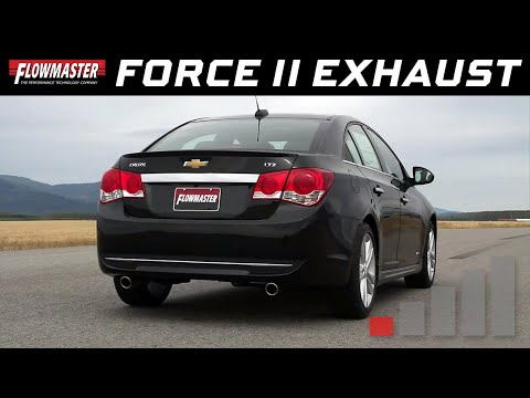 2011-16 Chevrolet Cruze 1.4L, 1.8L - Flowmaster Force II Cat-back Exhaust System