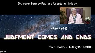 (Part 4 of 4) Judgment comes and ends