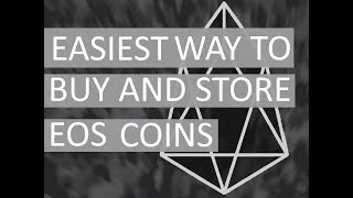 How to buy eos in usa