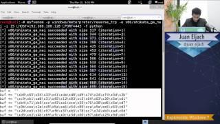 Explotación de Windows 7 con evasión de antivirus