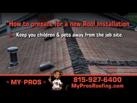 How to Prepare for a New Roof Installation. As a homeowner what can you do before a new roof is installed?