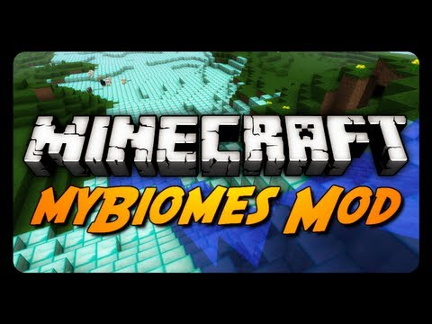 Minecraft Mod Review: MYBIOMES MOD! (Enable, Disable & Customize Biomes)