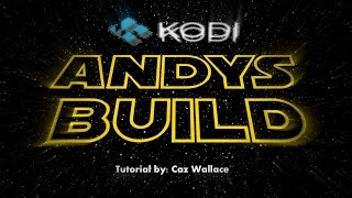 Andy's Build (Kodi Setup Wizard)**KodiMaster Wizard**
