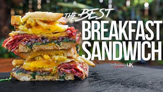 The Best Breakfast Sandwich | SAM THE COOKING GUY 4K