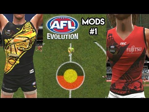 AFL Evolution Mods #1 - Dreamtime
