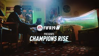 You take it from here. #ChampionsRise in FIFA 19, out September 28th. Pre-order the Champions Edition now and play three days early: http://smarturl.it/cd4ppk  Featuring Cristiano Ronaldo, Neymar Jr, Kevin De Bruyne, Paulo Dybala, Kylian Mbappé, Ronaldo Di Lima, Joel Embiid, Quavo, Steven Gerrard, Alessandro Del Piero, and James Richardson.  Learn more about FIFA 19: http://x.ea.com/50698  Subscribe to see more official FIFA 19 trailers: http://bit.ly/pzw4VD.