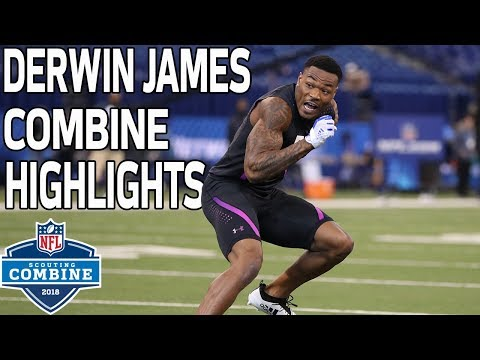 Derwin James Puts Up Solid Numbers During Workout!   NFL Combine Highlights