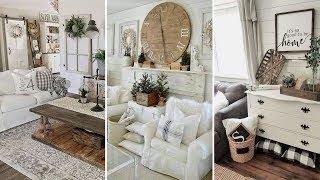 ❤DIY Chic Style Modern Farmhouse Living Room Decor Ideas❤   Home Decor Ideas  Flamingo Mango
