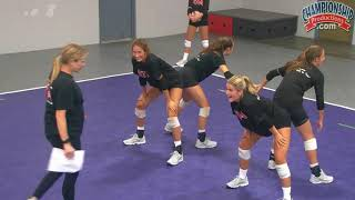 Inside Out Passing Volleyball Drill From Anne Kordes!
