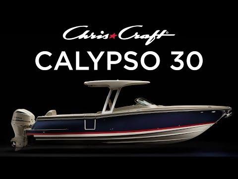 Chris-Craft Calypso 30 video