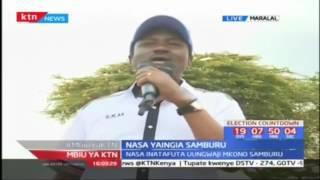 Muungano wa NASA umekuwa eneo la Samburu kuuza sera zao