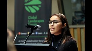 Thumbnail for Water protector Autumn Peltier speaks at UN