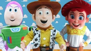 Distory Dan's Discount Mascot Warehouse - Toy Story