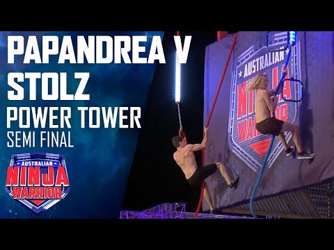 Two Ninjas face the Power Tower | Australian Ninja Warrior 2020