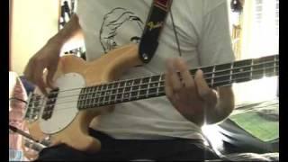 Floating boy - FUGAZI bass cover
