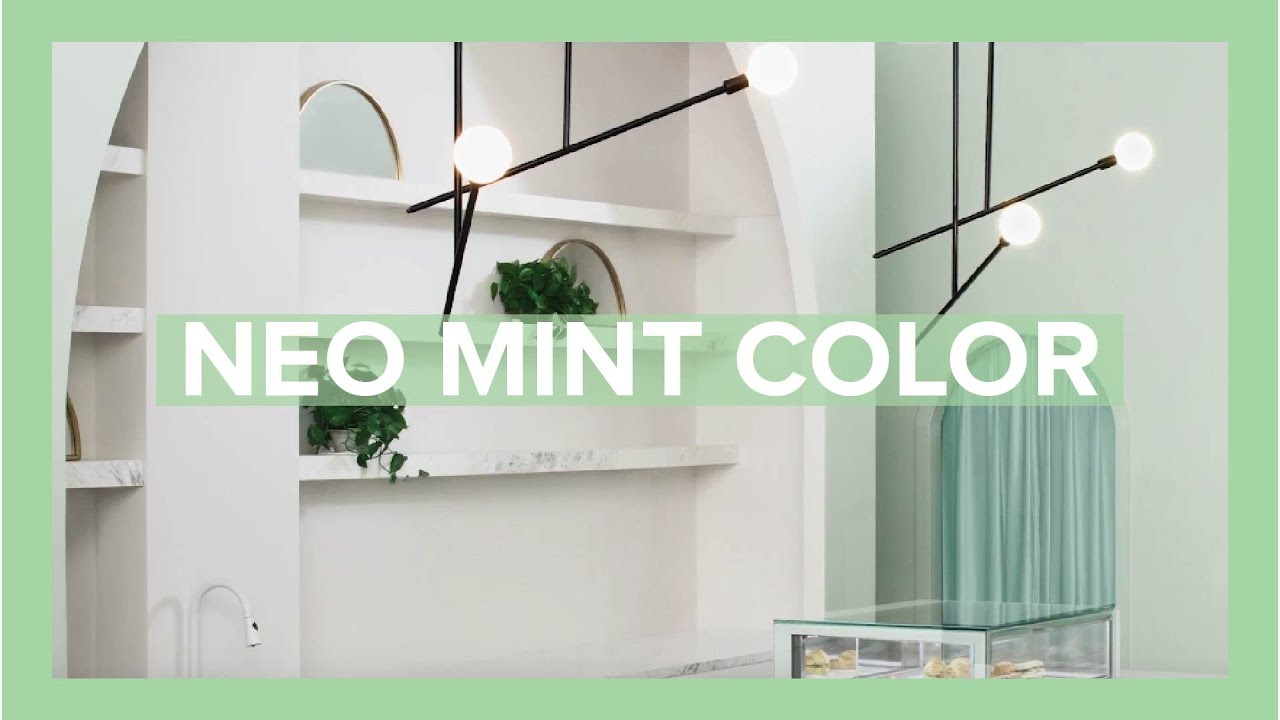Mint the Spring/Summer 2020 Color Trend