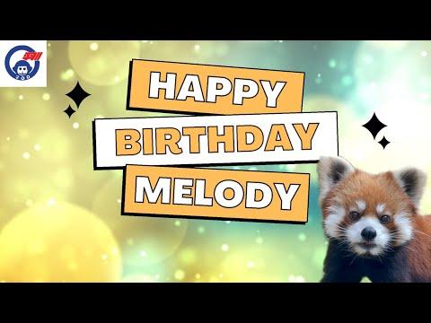 レッサーパンダのメロディちゃんの誕生日