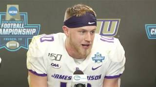 James Madison's full postgame press conference at the 2020 FCS Championship