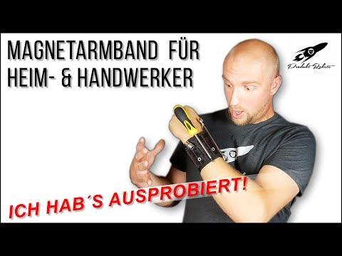 Magnetarmband für Heimwerker & Handwerker ✅ Ich hab's ausprobiert! | produktrakete.de