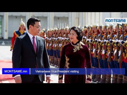 Vietnamese Vice President visiting