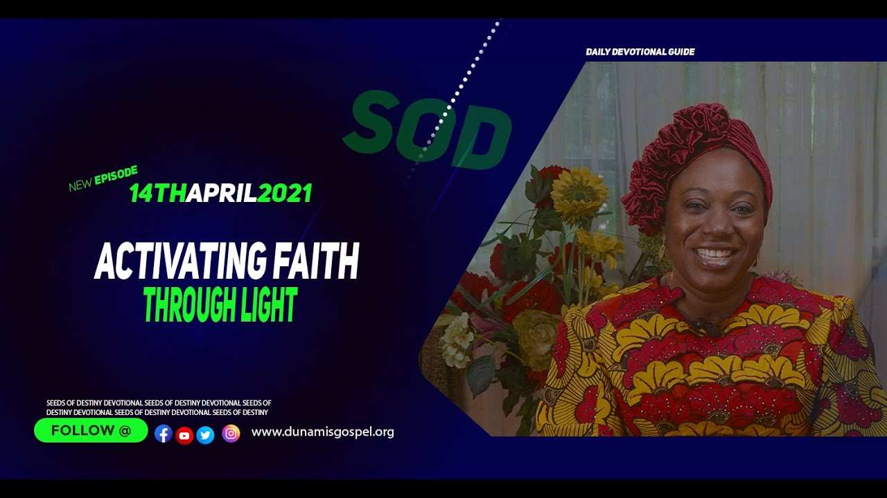 Seeds of Destiny Video for 14 April 2021 by Dr Becky Paul-Enenche