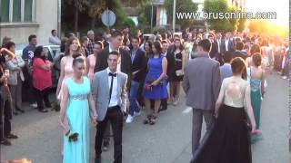 Brus: Maturska šetnja - srednjoškolci, 04.06.2014.