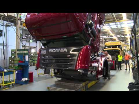 Scania R Series being Made video