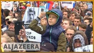 Russia says 'foreign meddling' to blame for protests