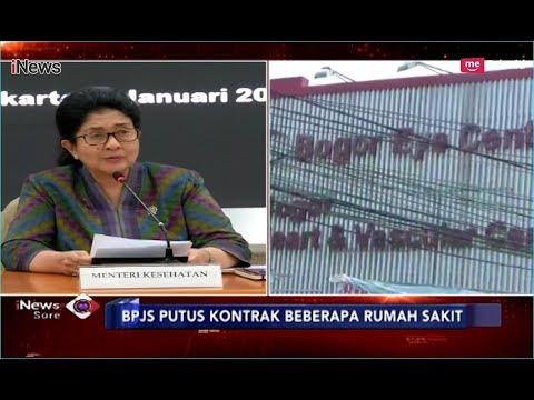 Menteri Kesehatan Minta BPJS Perpanjang Kerja Sama Rumah Sakit - iNews Sore 07/01
