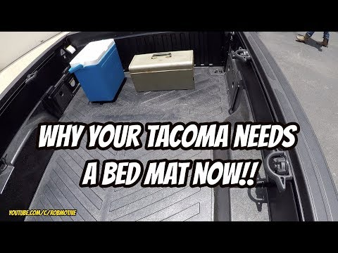 Why Your Tacoma Needs a Bed Mat Now!!