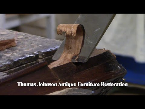 Repairing the Leg of a Federal Sidechair