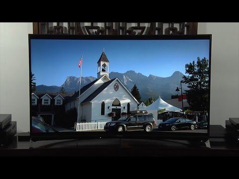 Panasonic TX-55CR852 Curved 4K TV Review