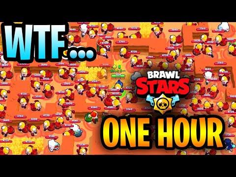 1 Hour Of Brawl Stars  Funny Moments & Glitches